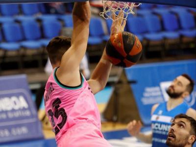 Sergi Martínez (10 punts) també va oferir espectacle