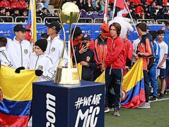 L'acte d'inauguració del MIC19 a Vilatenim, l'última edició del torneig que s'ha pogut dur a terme