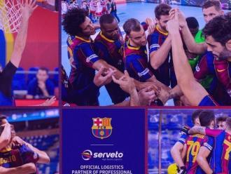 L'empresa de logística catalana és partner oficial de les seccions de bàsquet, handbol, hoquei sobre patins i futbol sala