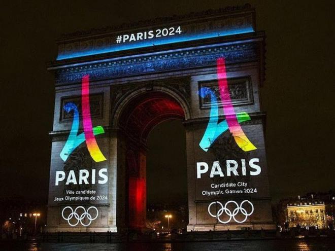 Una imatge de quan París aspirava a organitzar els Jocs del 2024