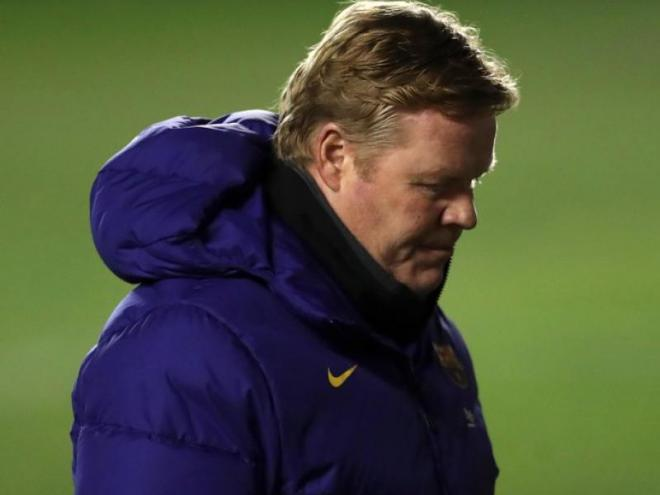 Koeman, ahir a Vallecas