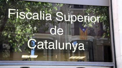 Entrada de la Fiscalia Superior de Catalunya