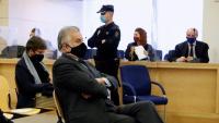 """L'extresorer del PP Luis Bárcenas durant la primera sessió del judici dels """"papers de Bárcenas"""""""