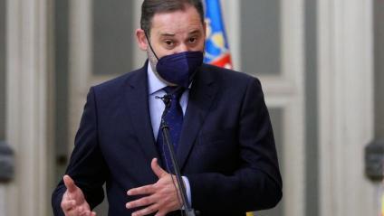 El ministre de Transports, Mobilitat i Agenda Urbana, José Luís Ábalos