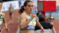 Esther Guerrero, al campionat d'Espanya.