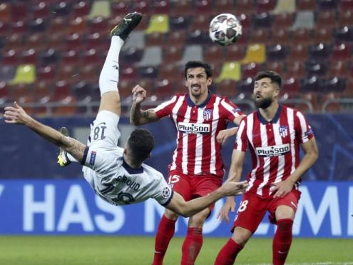 La xilena de Giroud, un punyal per a l'Atlético