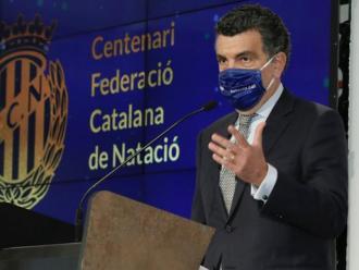 Enric Bertrán és el president de la FCN