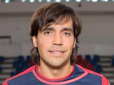 Bargalló, amb la samarreta de l'Oliveirense