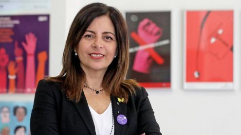 <b>Laura Martínez </b>és presidenta de l'ICD des del setembre del 2019