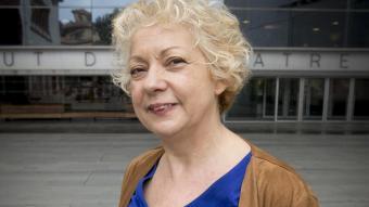 Magda Puyo, pocs dies després de ser nomenada directora, el 2015