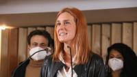 La líder d'En Comú Podem, Jéssica Albiach,