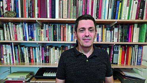 <b>José Luis Jiménez </b>està considerat un dels màxims experts mundials en el camp dels aerosols./