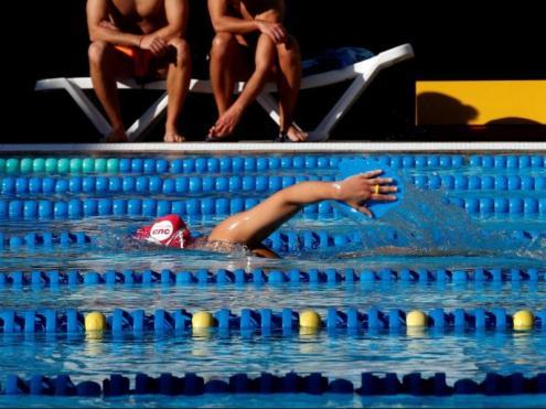 La piscina del CE mediterrani