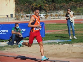 Yassin Ouhdadi, en el míting de l'any passat