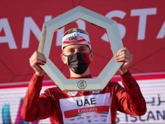 Caleb Ewan s'endú el darrer esprint i Tadej Pogacar el Tour dels Emirats