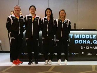 Els jugadors i els tècnics estatals que s'han desplaçat a Doha