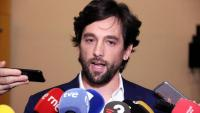 El president del Comitè d'Afers Jurídics i eurodiputat de Cs, Adrián Vázquez