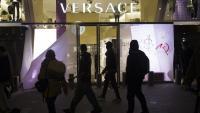 L'aparador de Versace, al passeig de Gràcia, destrossat el 20 de febrer