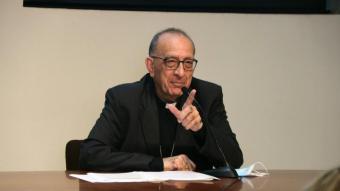 L'Arquebisbe de Barcelona, Joan Josep Omella, en una imatge d'arxiu