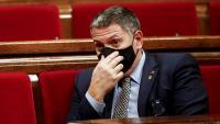 El conseller d'Interior en funcions, Miquel Sàmper, aquest dimecres al Parlament