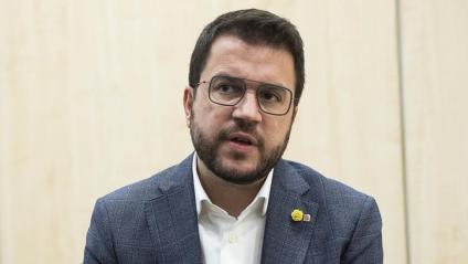 El vice president en funcions de la Generalitat, Pere Aragonès.