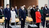 Sánchez, Marlaska i Robles a l'acte celebrat a Madrid