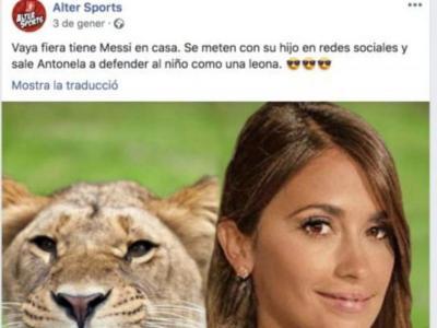 El lamentable atac a Antonella des d'Alter Sports