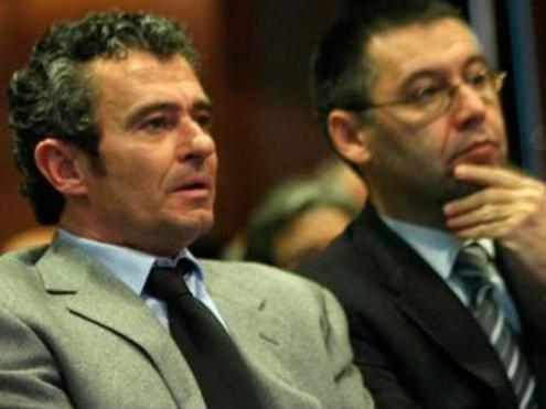 "Detinguts pel ""Barçagate""Jaume Masferrer R. Gómez Ponti"