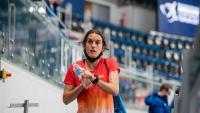 Esther Guerrero , en la jornada prèvia a la seva estrena en el campionat