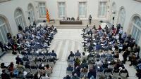 Auditori del Parlament, on se celebrarà la sessió constitutiva