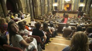 El Parlament de les Dones celebrat el juliol del 2019.