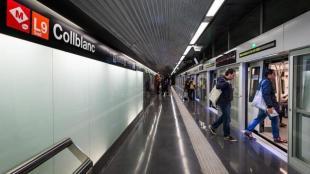 Metro Collbanc de la L9 i la L10