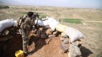 Un soldat afganès en un control militar a la província de Nanganhar