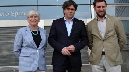 Ponsatí, Puigdemont i Comín