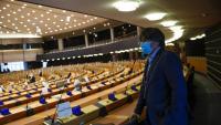 Carles Puigdemont al Parlament Europeu aquest dilluns