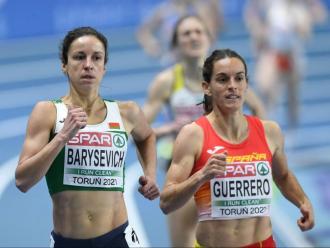 Esther Guerrero va accedir a la final de 1.500 m amb solvència
