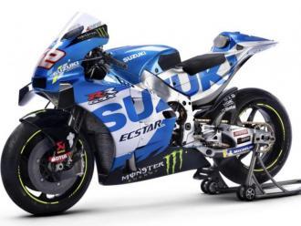 La Suzuki d'Àlex Rins per aquesta temporada en MotoGP