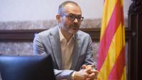Josep Costa durant una entrevista feta a la seva etapa com a exvicepresident del Parlament