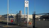 Exterior de la planta de Nissan a la Zona Franca en una imatge d'arxiu