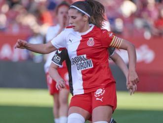 Núria Llop , capitana del Girona