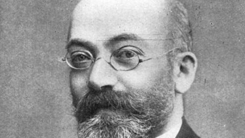 Lazaro Zamenhof, jueu polonès, creador de la llengua auxiliar internacional coneguda com a esperanto.