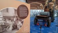 El carro-estufa de la Casa Metzger que el 1910 desinfectava roba quan hi havia còlera i grip espanyola