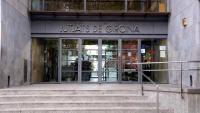 L'entrada als jutjats de Girona, on s'ha dirimit la causa en primera instància