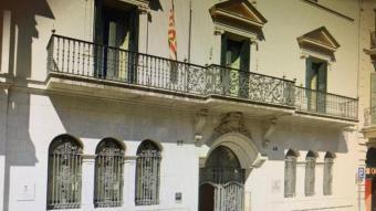 La façana del Consell Comarcal