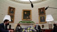 La nova administració nord-americana, al Despatx Oval