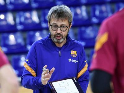 Edu Castro, el tècnic del Barça