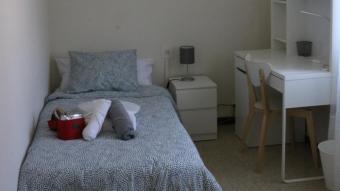 Una habitació del nou centre