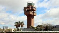 Imatge de l'antiga torre de control de l'aeroport del Prat que acollirà l'acceleradora internacional d''startups' d'Aena