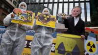 Protestes a Seül contra la decisió del Japó de tirar les aigües de Fukushima al mar