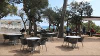 Una terrassa de Calella de Palafrugell